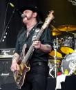Motorhead frontman Lemmy Kilmister performing during the Mayhem Festival tour.