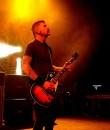 Mastodon guitarist Bill Kelliher performing live at The Fillmore in Detroit.