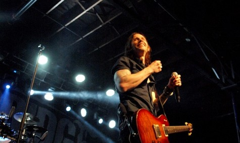 Alter Bridge singer Myles Kennedy.