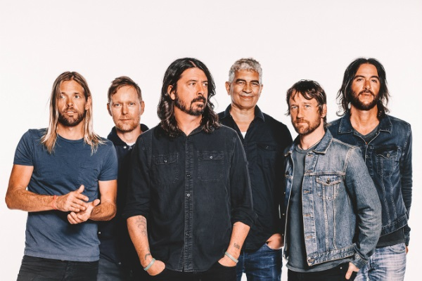 Foo Fighters celebrate their 25th anniversary this year.