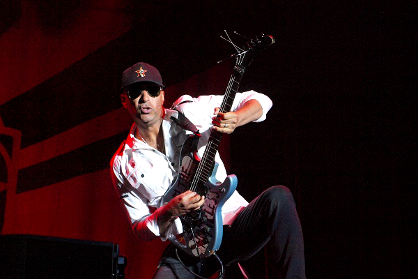 """Tom Morello (pictured) and Rage Against the Machine have released a mini-documentary called """"Killing in Thy Name."""""""