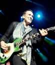Vivian Campbell of Def Leppard performing live at DTE Energy Music Theatre in Clarkston, Michigan.