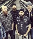 Promo image of metalcore band Killswitch Engage.