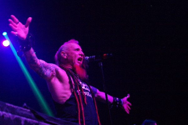Chad Gray and Hellyeah performing at 20 Monroe Live in Grand Rapids in August of 2019.