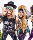 Steel Panther: pictured. The band is helping concert photographers raise funds with a new online exhibit.