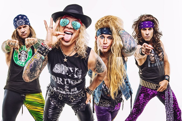 Steel Panther Drummer Stix Zadinia on 'Heavy Metal Rules