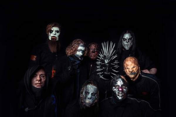 Slipknot promo photo.