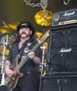 Lemmy Kilmister of Motorhead performing live on Mayhem Fest at DTE Energy Music Theatre hear Detroit.