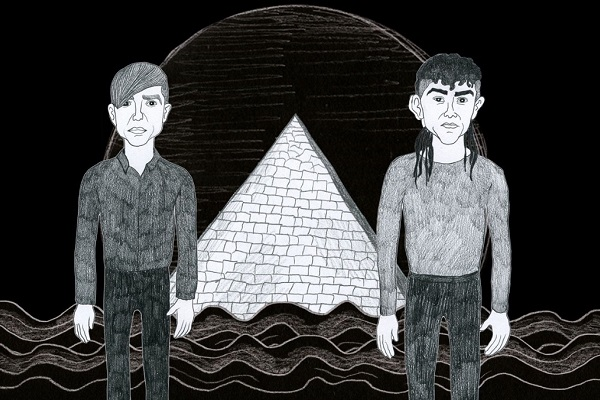 """See the new video from Blaqk Audio for """"Hiss,"""" off their new album, """"Beneath the Black Palms."""""""