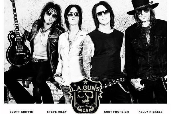 "Video interview: Steve Riley of L.A. Guns talks about the band's new album, ""Renegades,"" with Anne Erickson."