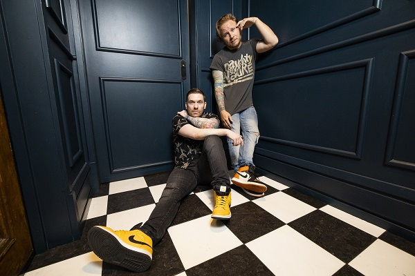 Shinedown lead vocalist Brent Smith and guitarist Zach Myers have two albums on the way.