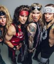 Steel Panther frontman Michael Starr spoke with Anne Erickson of Audio Ink about the upcoming drive-in concerts, how livestream performances have helped the band stay connected with fans during quarantine, the status of new Steel Panther music and if he would ever do a collaboration with the feuding Sebastian Bach and Chris Jericho.
