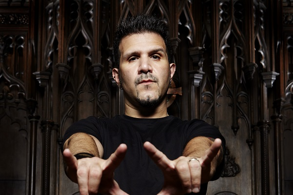 Promo photo of Charlie Benante of Anthrax.