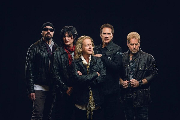 Classic rock band Night Ranger with their 2021 press photo.