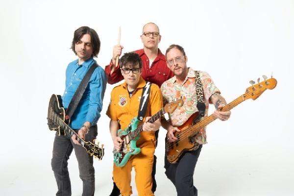 Weezer 2021 press photo.