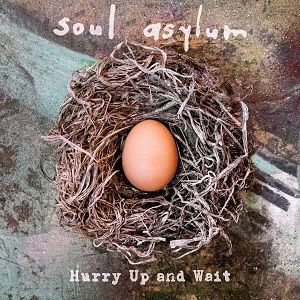 """Soul Asylum, """"Hurry Up and Wait,"""" album cover"""