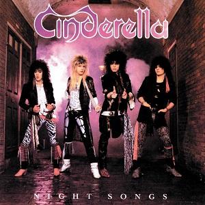 "Cinderella, ""Night Songs"" album artwork - Story by Anne Erickson, album artwork via Mercury Records"