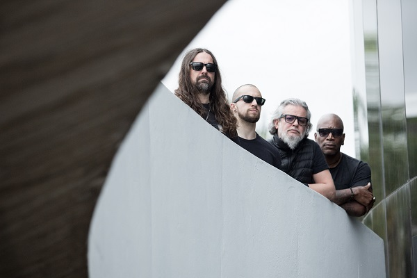 Photograph of Brazilian metal band Sepultura.