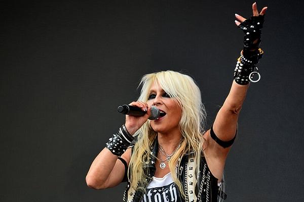 Image of metal singer Doro Pesch.