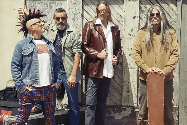 Press photo of prog-metal band Tool.