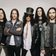 Portrait photograph of Slash featuring Myles Kennedy and the Conspirators.